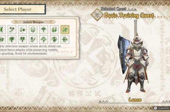 Monster Hunter Rise Lance Guide