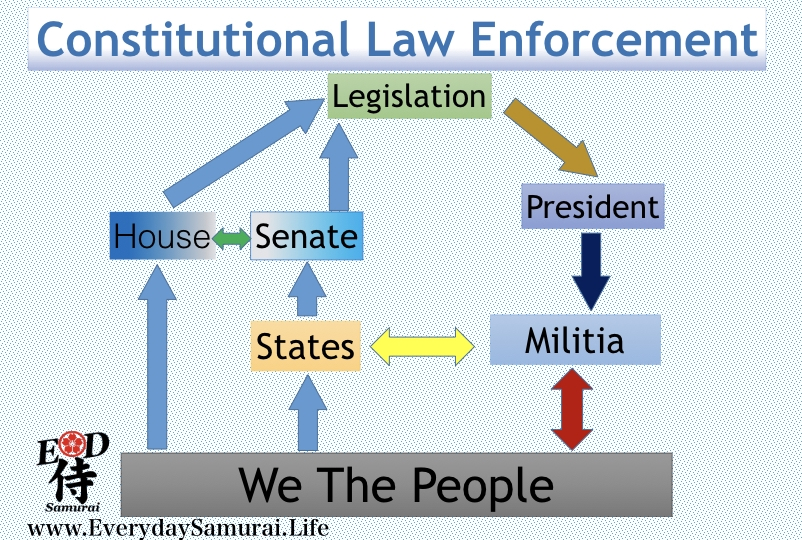 Cycle Of Constitutional Law Enforcement