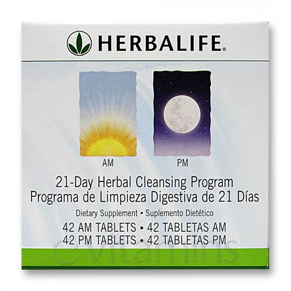 Herbalife 21-Day AM PM Herbal Cleansing Program - 42 AM ...