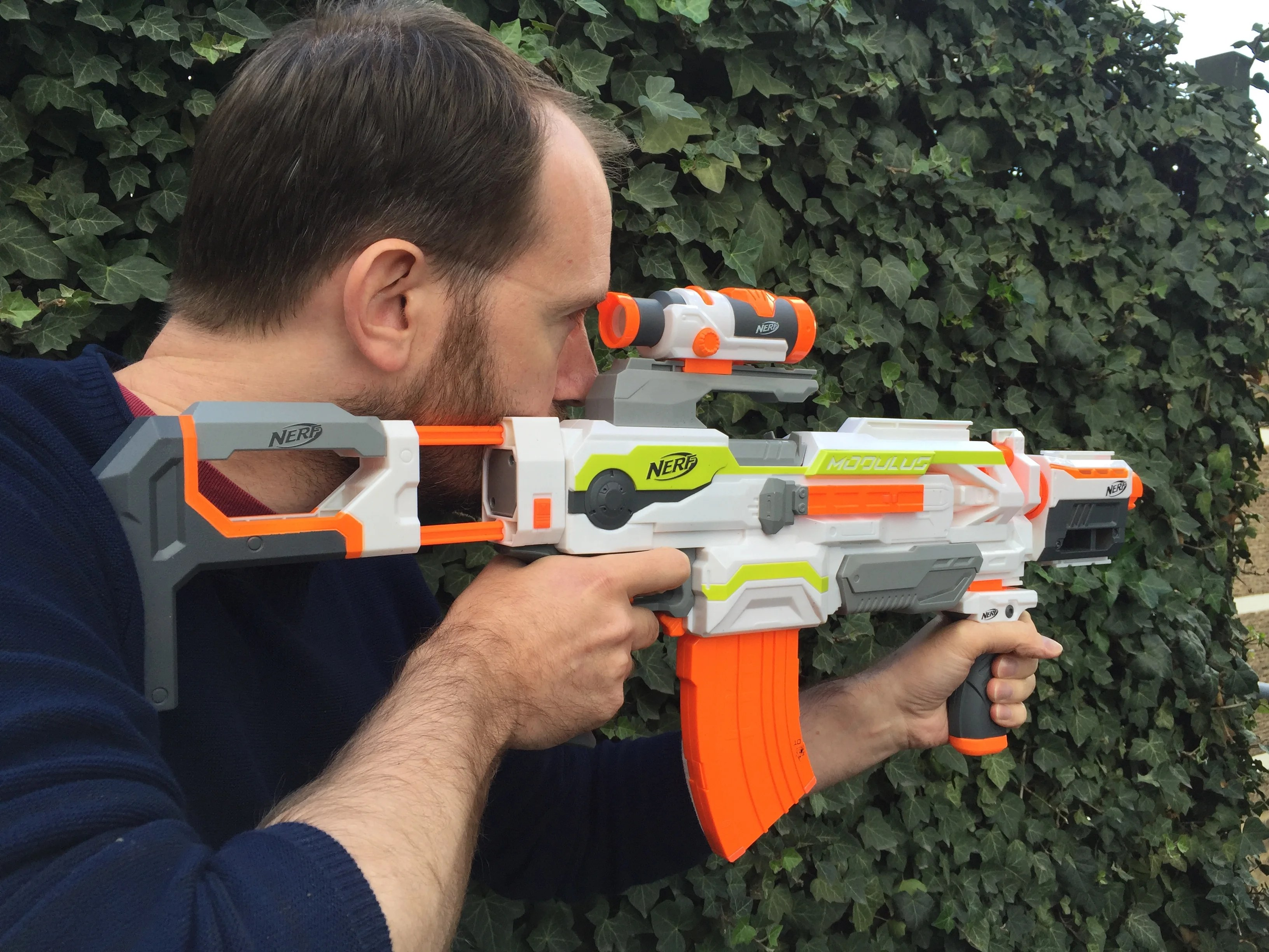 Nerf Modulus EXS 10 Review Hands On With The Most