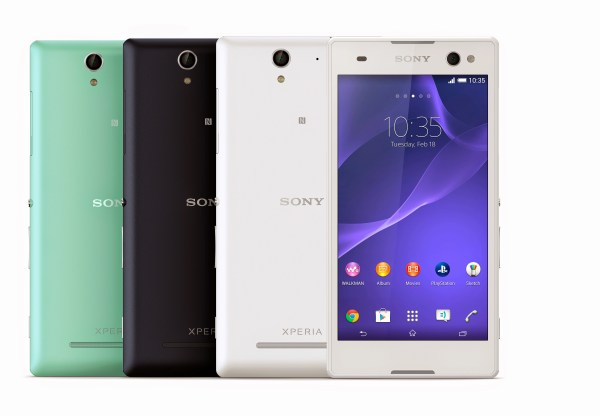 "Sony Xperia C3 arrives as ""world's best selfie smartphone ..."