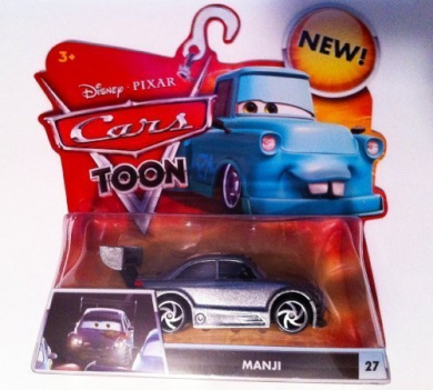 Disney Pixar Cars Toon 155 Cast Car Manji Custom Paint Job By