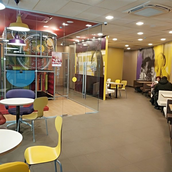 Макдоналдс, сеть предприятий быстрого обслуживания в ...