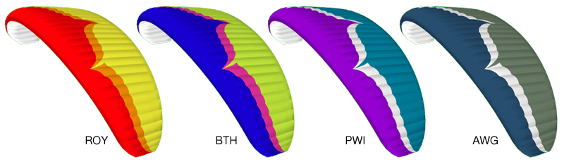 Element 3 Colour Options