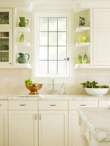 I do love white kitchens.