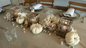 Slim Paley centerpiece display