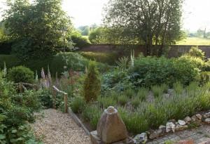 Herb garden, Belmont House