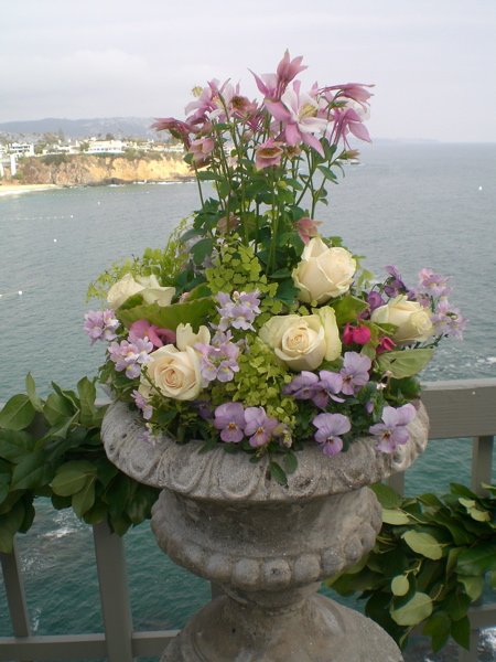 One Example Of How To Plant An Urn