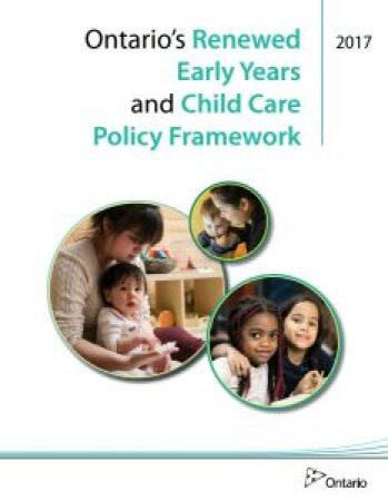 Ontario's Renewed Early Years and Child Care Policy Framwork