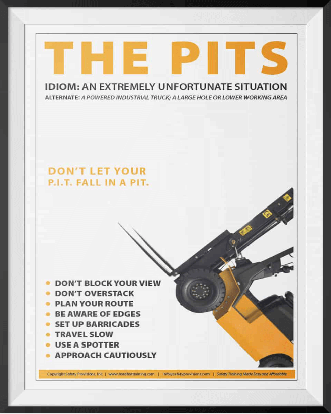 forklifts the pits