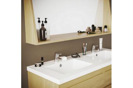 miroir de salle de bain en bois l120 napoli cork