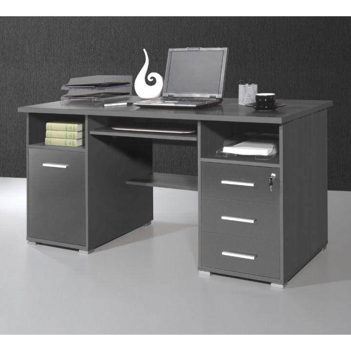 Computertisch SUVA - Anthrazit