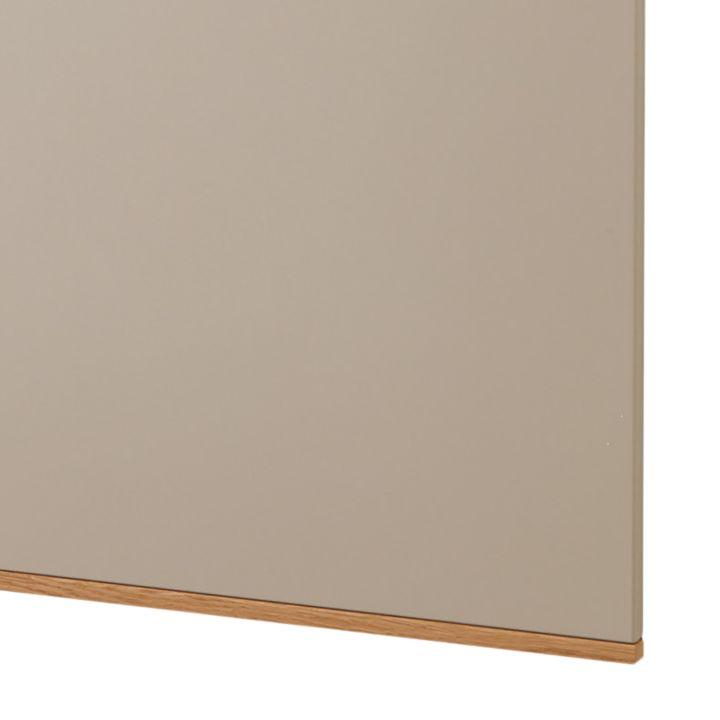 Garderobenpaneel LOVENO III - Taupe / Eiche Bianco