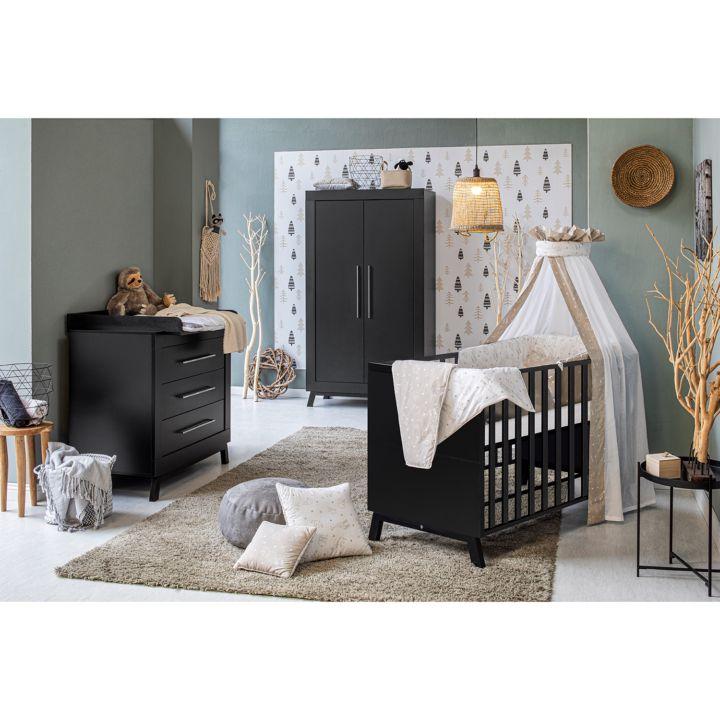 Kinderzimmer-Set MIAMI BLACK I (3-tlg.) von SCHARDT