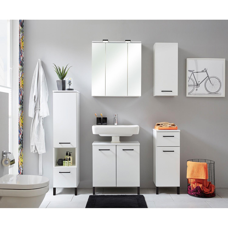Waschbeckenunterschrank BELGRAD - kleiner Stauraum