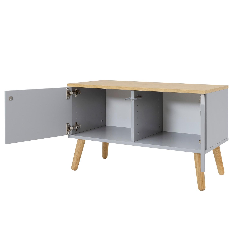 Garderobenbank DOT - Grau
