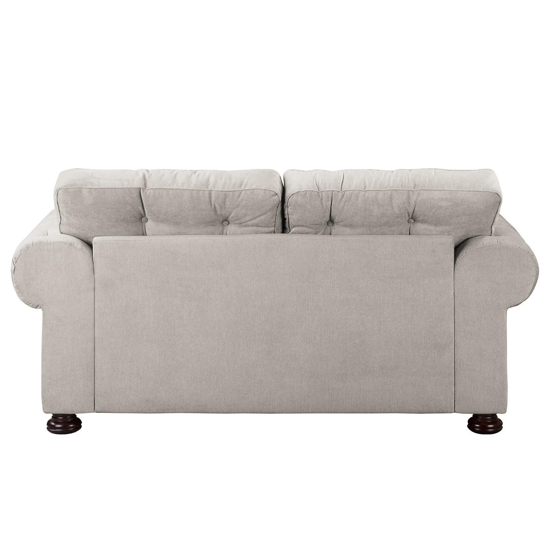 Sofa MARAU (2-Sitzer) - Microfaser / Massivholz Buche