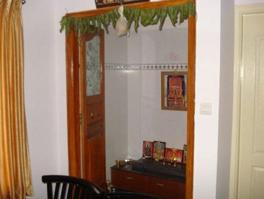 Pooja Room Designs in Dining Hall