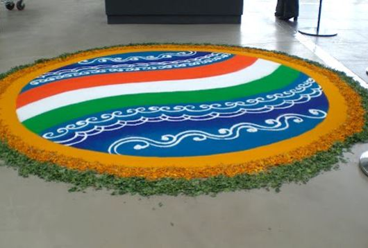 Independence Day Rangoli Images