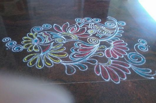 Free Hand Rangoli Patterns