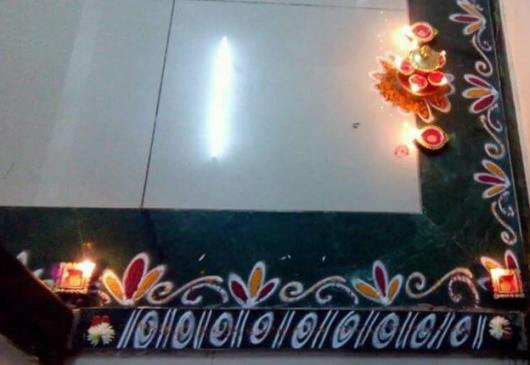 Border Rangoli Designs for Diwali