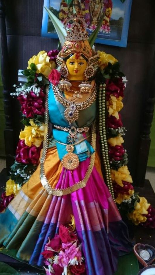 Varalakshmi Vratham Idol Decoration Ideas
