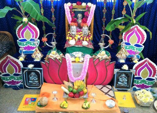 Varalakshmi Vratham Decoration Ideas