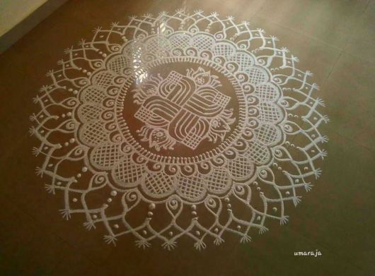 Best Ugadi Kolam Designs