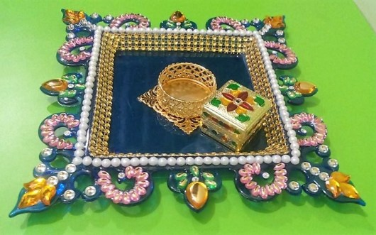 DIY Aarti Tray Decoration
