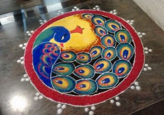 Rangoli Design for Competition