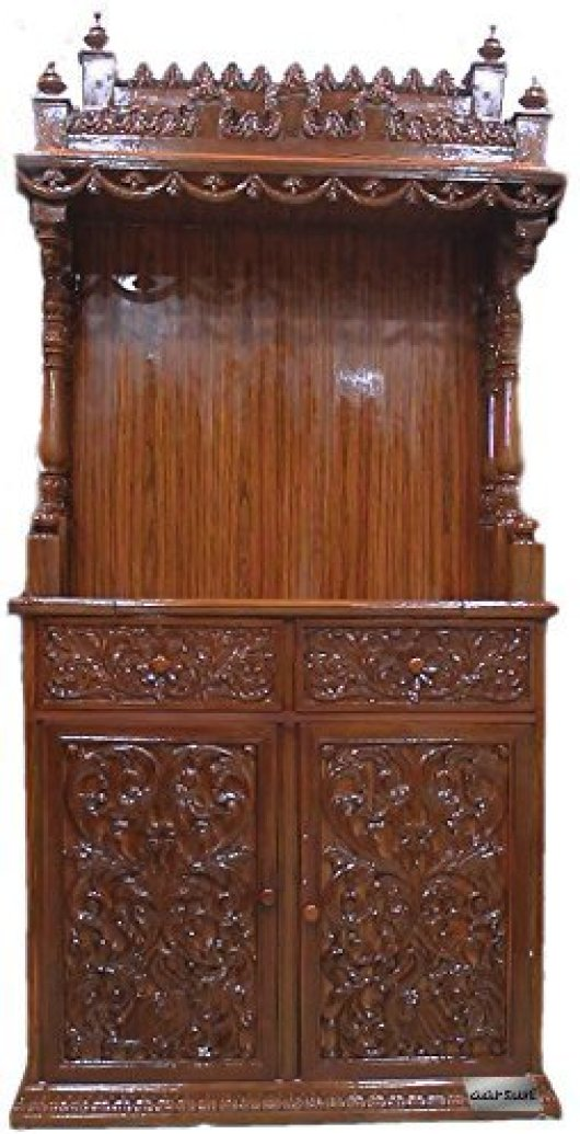 Wooden Pooja Room Mandir Designs