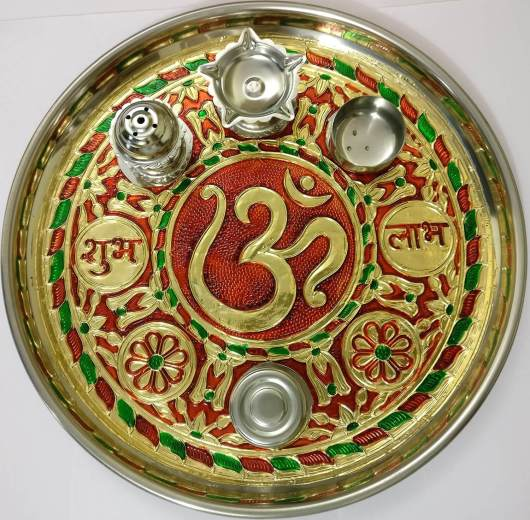 Pooja Items Articles- Aarti/Pooja Thali