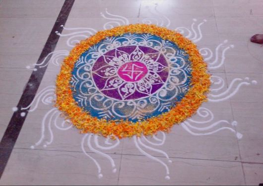Latest Diwali Rangoli Designs