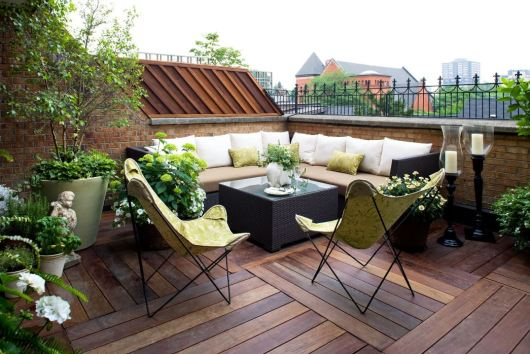 Rooftop Seating Ideas