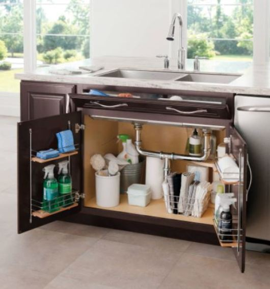 Under Kitchen Sink Storage