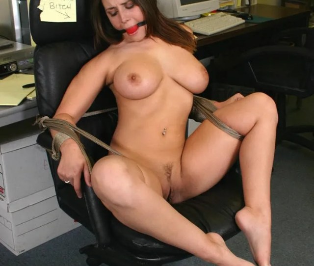 Up Women Tied Naked Chair