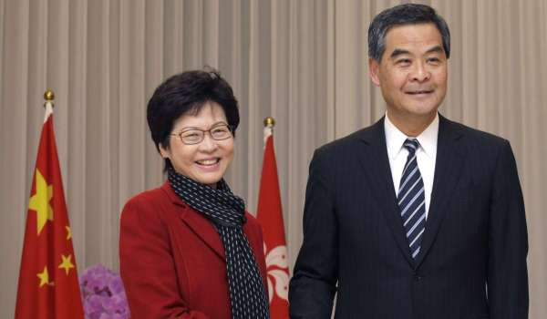 Occupy leaders arrested and charged a day after Carrie Lam ...