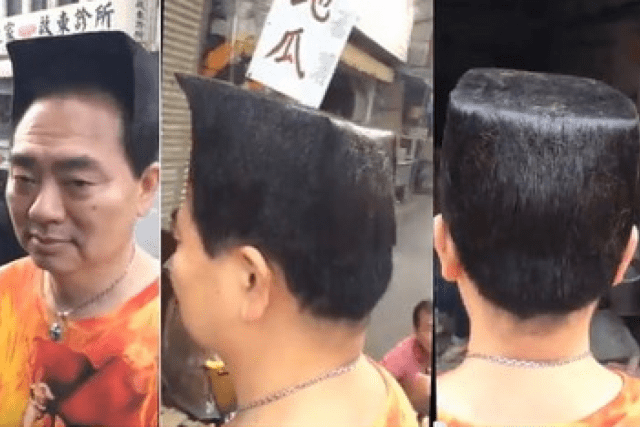 meet 'square head bro', the taiwanese man with the blockhead