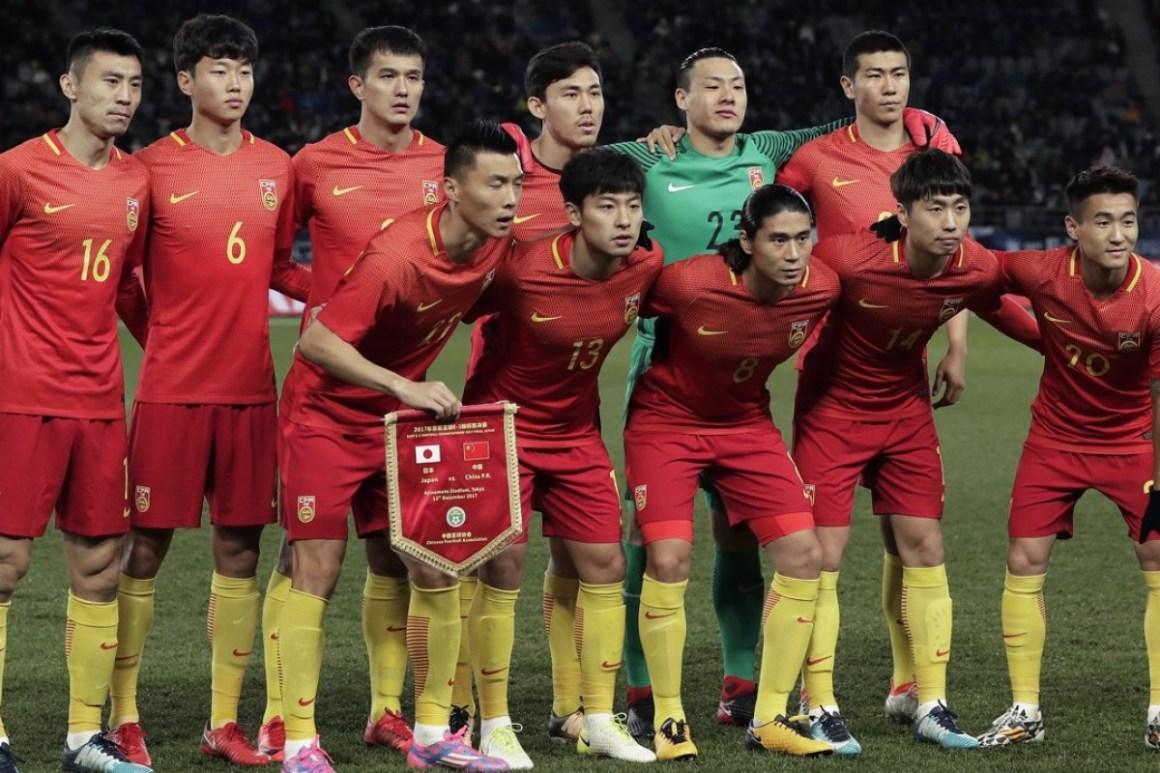 Kết quả hình ảnh cho china football team