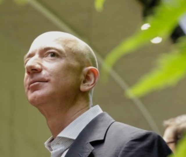 Jeff Bezos Founder And Ceo Of E Commerce Giant Amazon Is Ranked As