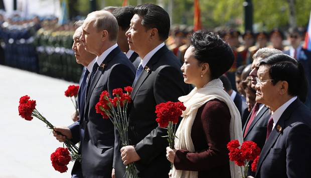 Xi Jinping leads PLA in Moscow war victory parade | South ...