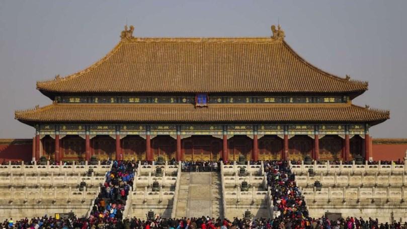 Forbidden City to knock down all modern buildings at former imperial     Nectar Gan