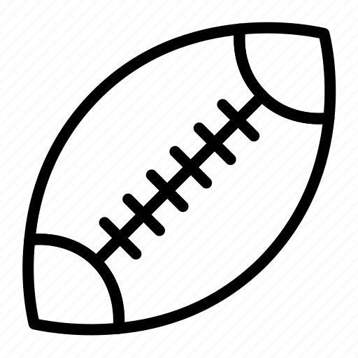 Download 7500+ royalty free american football. American Football Ball Outline Rugby Set Sports Icon Download On Iconfinder