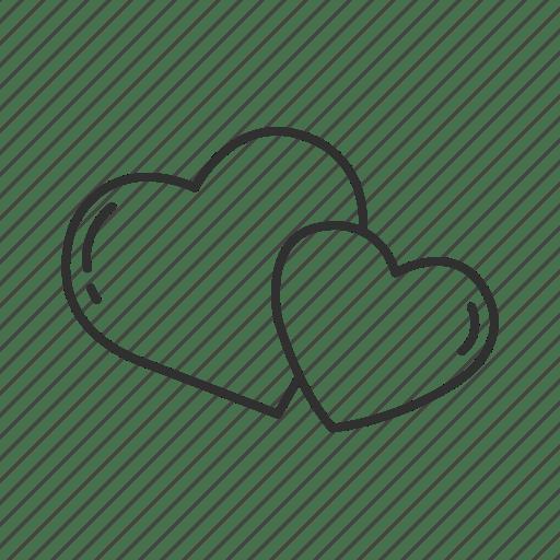 Download Couple, emoji, heart, hearts, love, two hearts, valentines ...