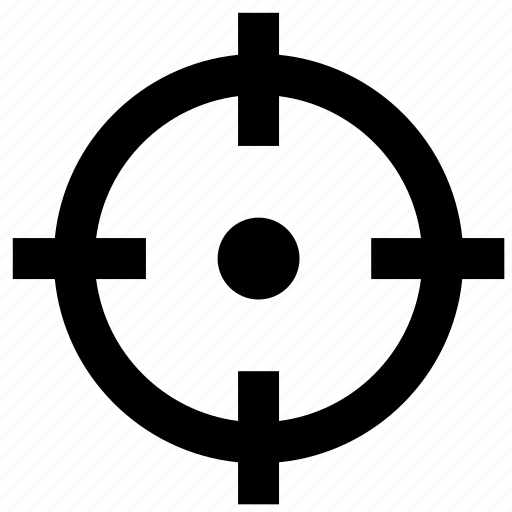 Aim, archery, business, focus, shoot, target, targeting icon