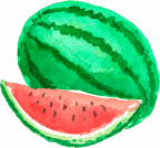 Bildresultat för WATERCOLOR WATERMELON