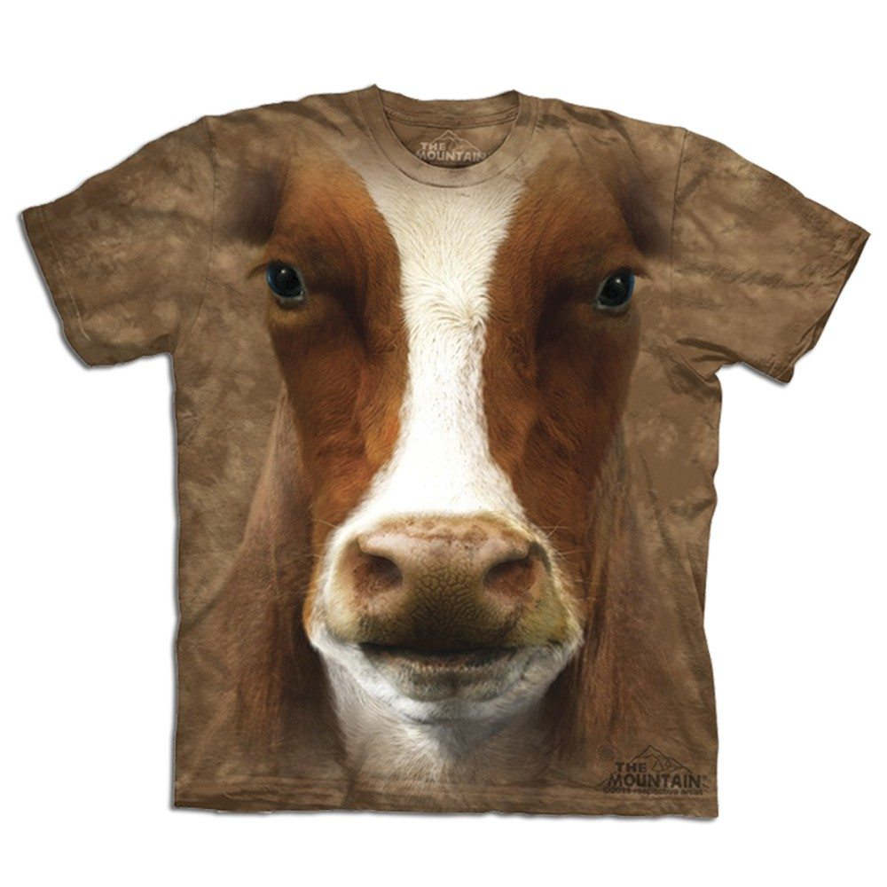 T Shirt Gros Plan Animal Vache Ideecadeaufr