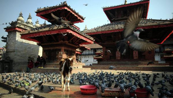 Зарубежные страны. Непал. Архивноефото