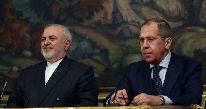 Russian Foreign Minister Lavrov and Iran's Zarif Hold Joint Press Conference in Moscow