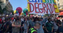 Trade Unions Hit Streets in Paris to Protest Coronavirus Stimulus Plan – Video